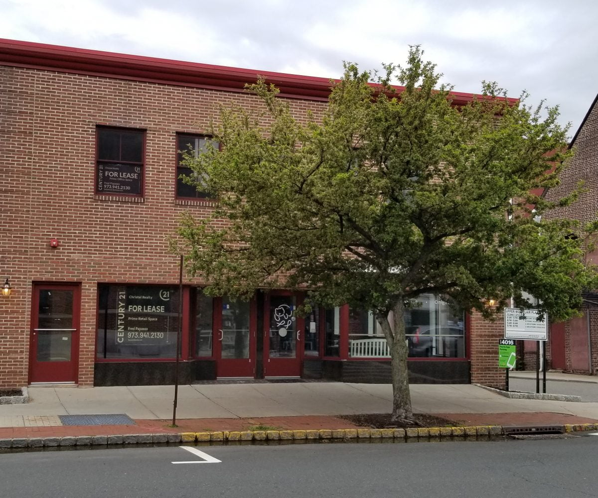Upper Montclair 2nd floor office space for rent at 248 Bellevue Avenue