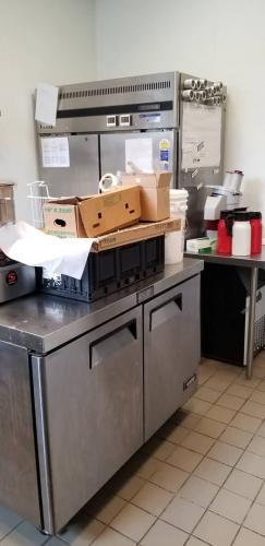 Kitchen / main prep area