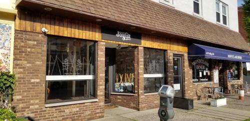 The space previously occupied by Joyist is for rent